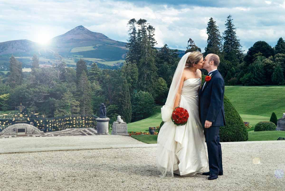 lovely amp natural powerscourt wedding photographs