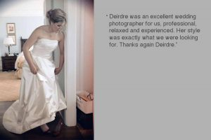 Review of Powerscourt Wedding Photography