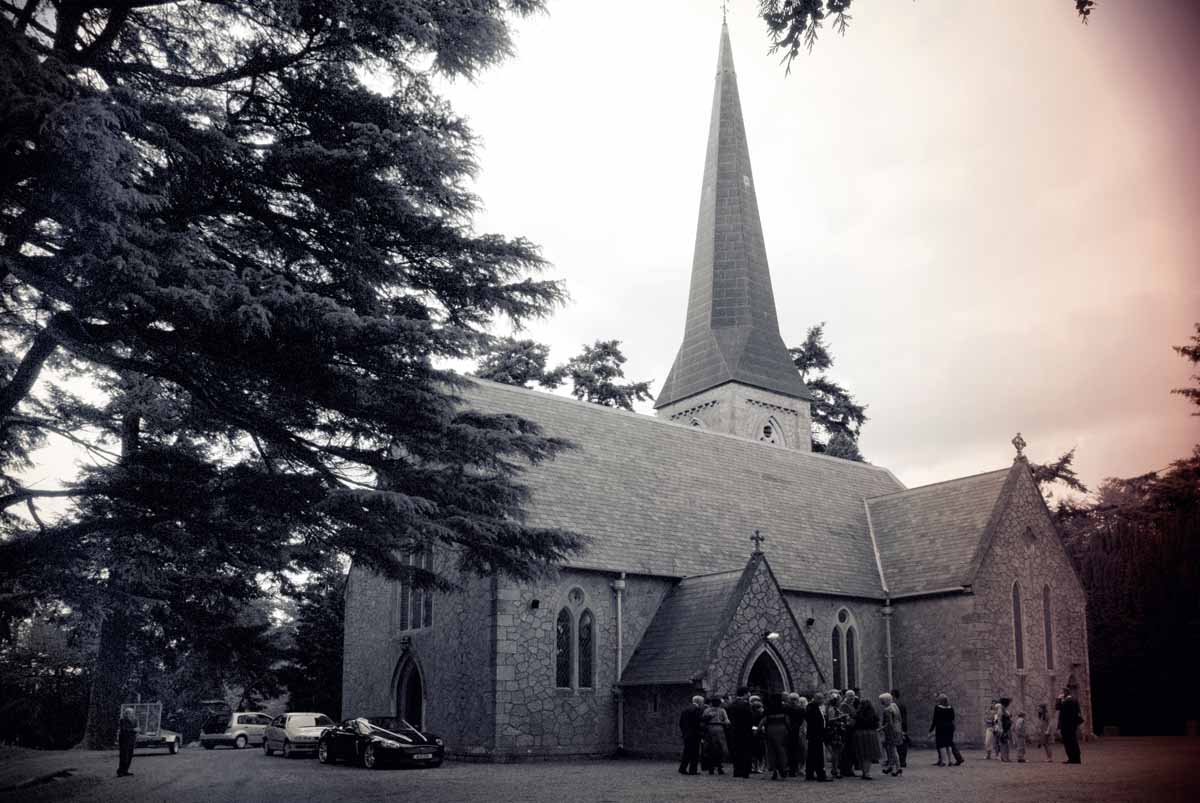 St Patrick's Church, Powerscourt , Wedding