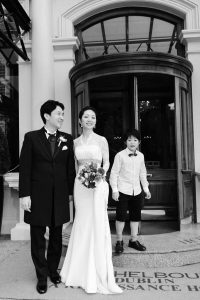 Wedding Photograph at The Shelbourne Hotel