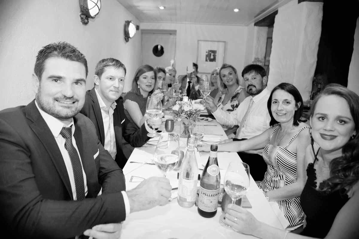 A Dax Restaurant Wedding Reception Photograph