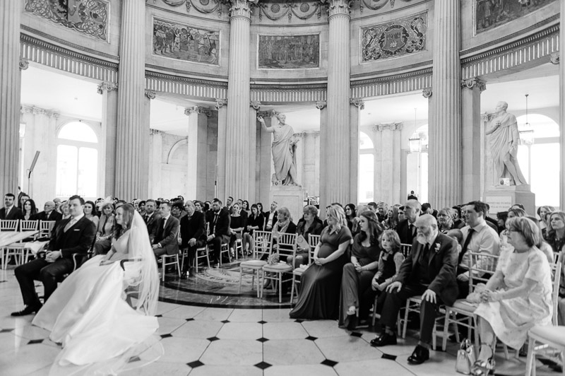 City Hall Wedding Ceremony Photograph