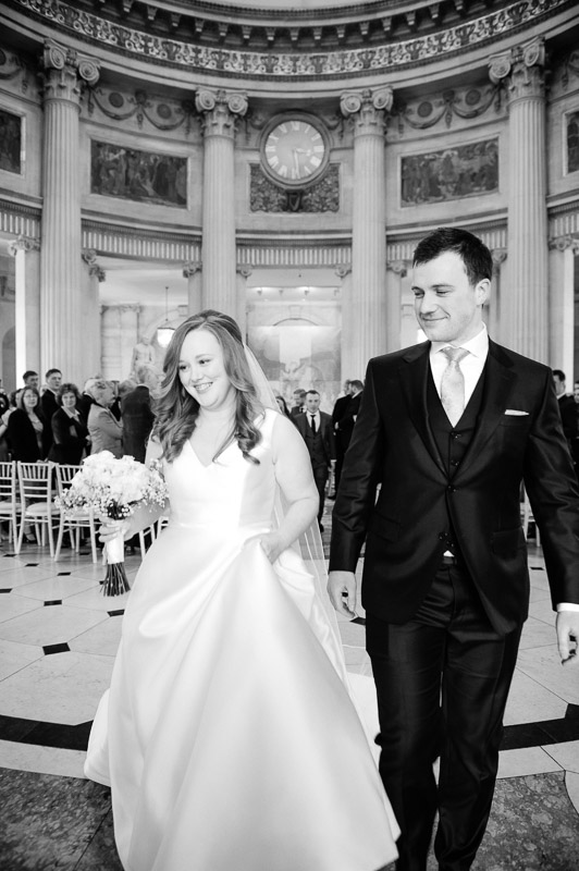 City Hall Wedding Ceremony Photograph