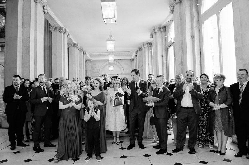 City Hall Wedding Ceremony Photography