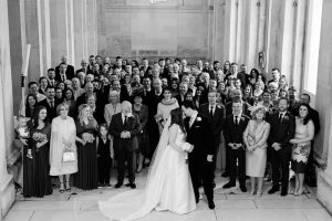 City Hall Wedding Photograph