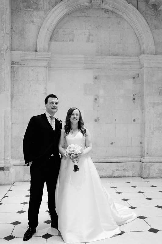 City Hall Wedding Photograph