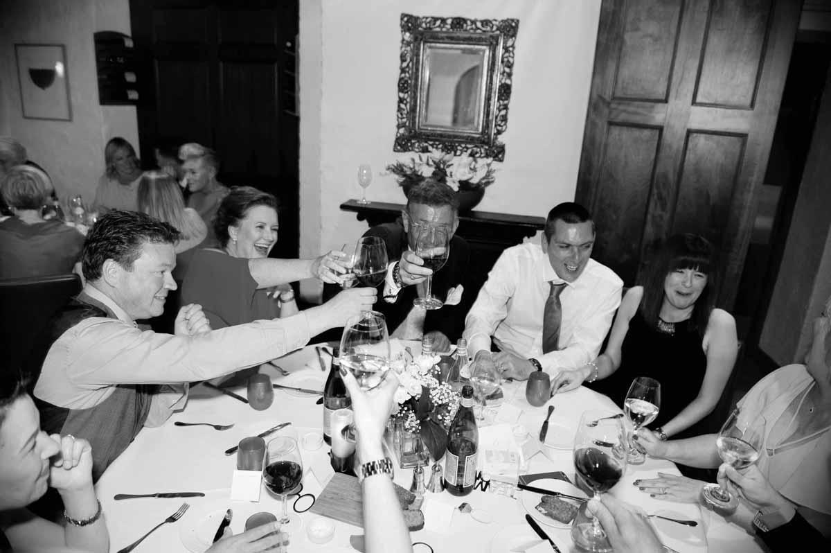 Dax Restaurant Wedding Photo