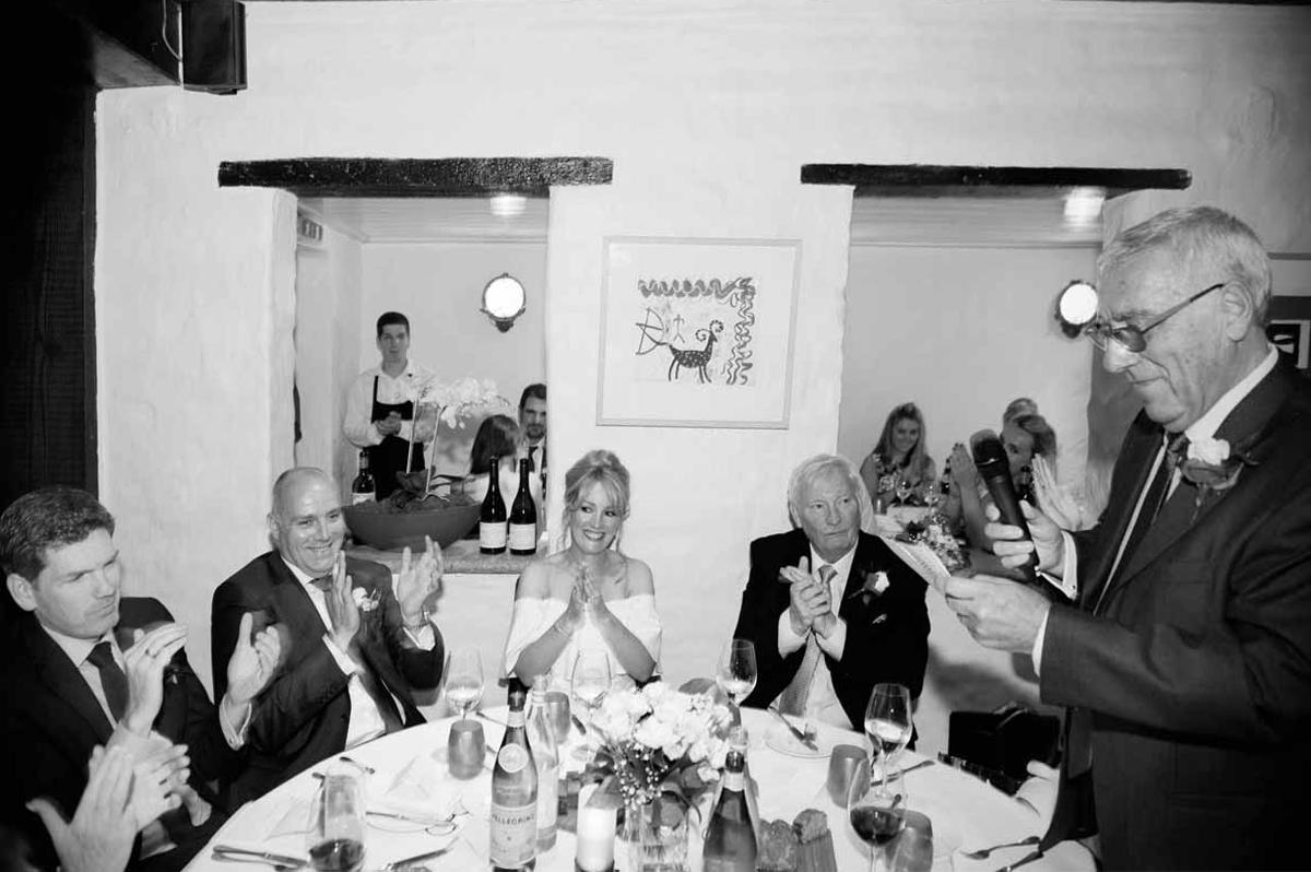 Dax Restaurant Wedding Reception Photograph