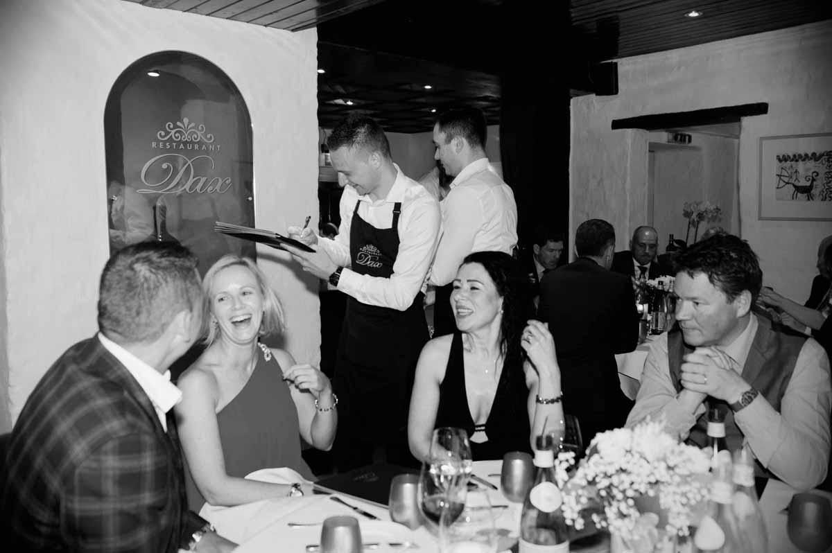 Dax Wedding Reception Photograph