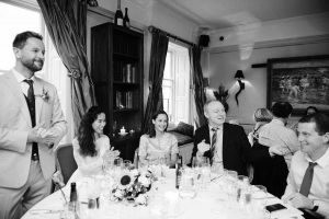 Residence & Restaurant Forty One wedding party