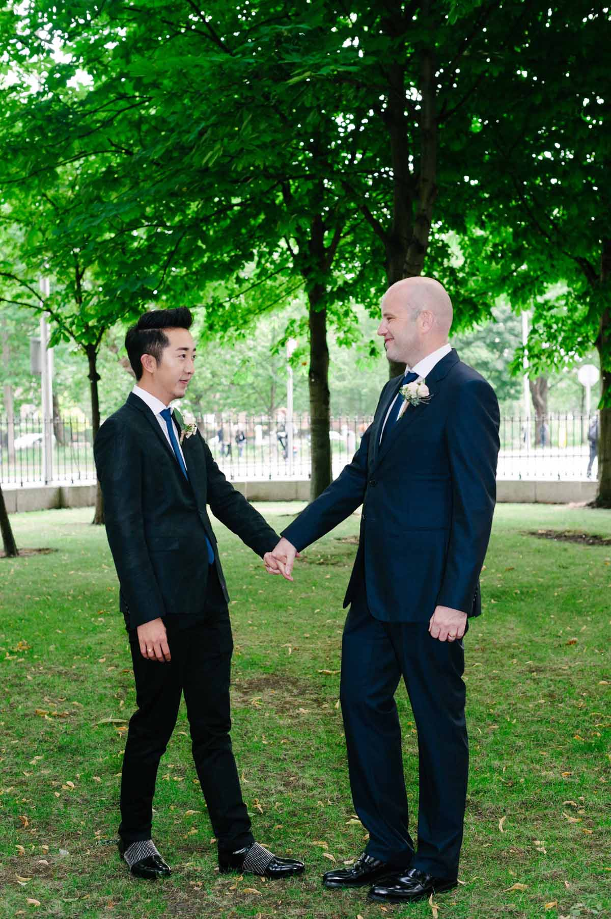Same Sex Wedding Photography in Dublin City Centre