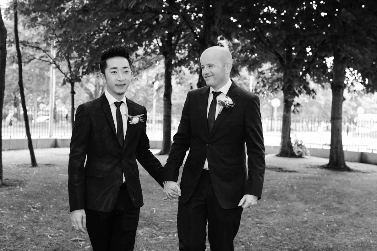 Same Sex Wedding Photography in Dublin