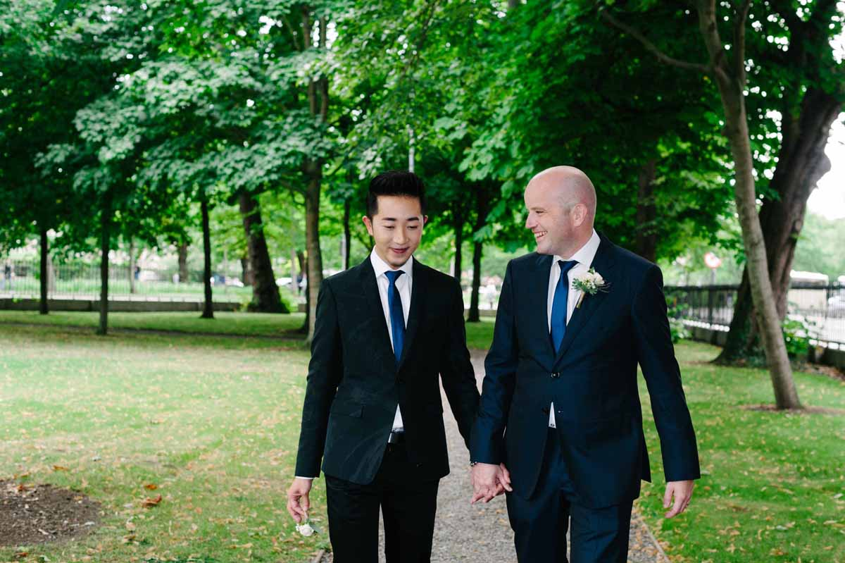 Same Sex Wedding Photography Dublin