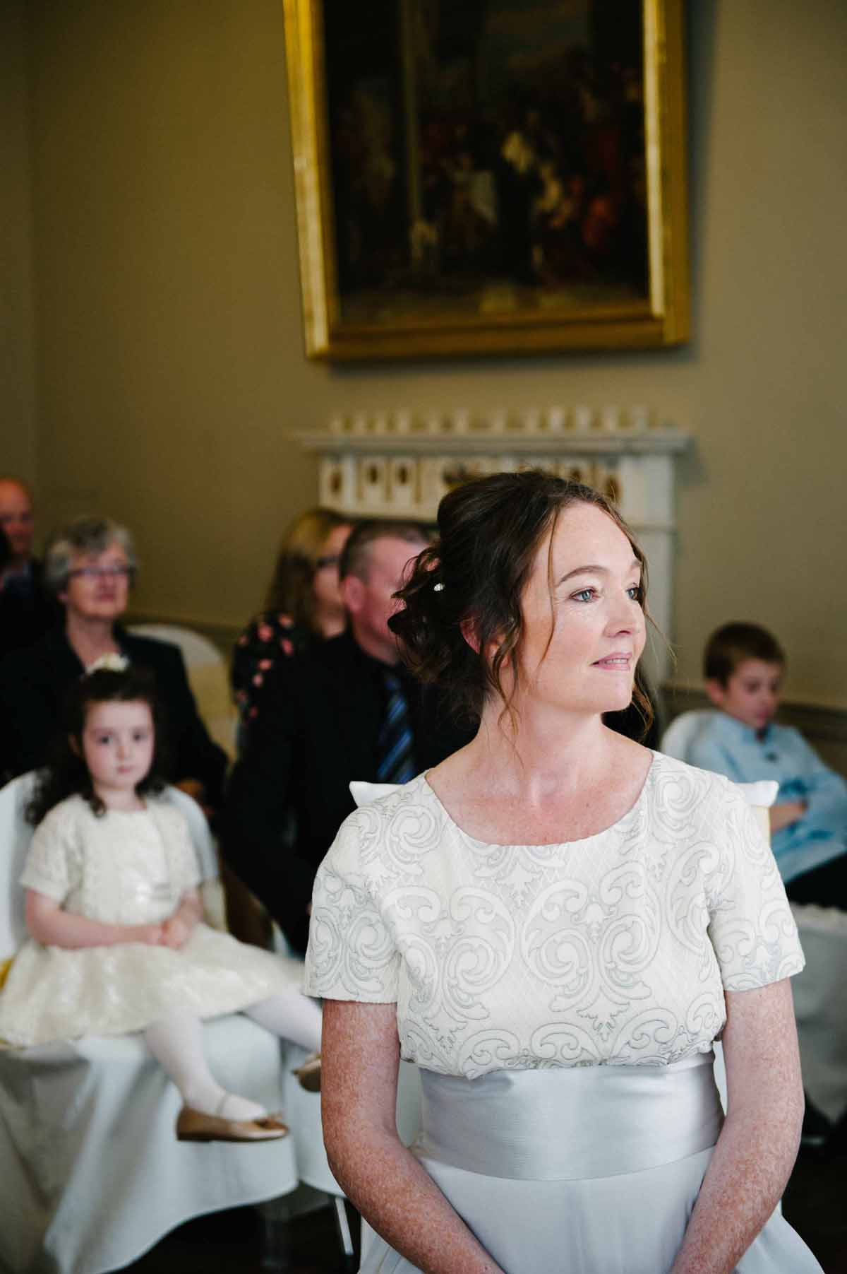 National Gallery Wedding Ceremony Photograph