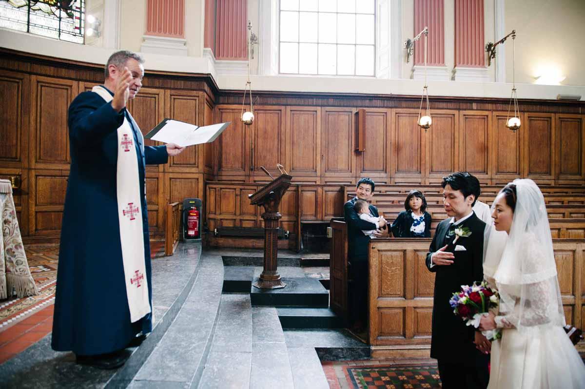 Trinity College Chapel Wedding Photography