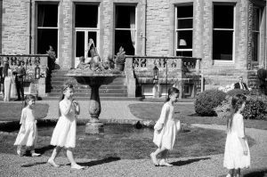 Castle Leslie Wedding Photo