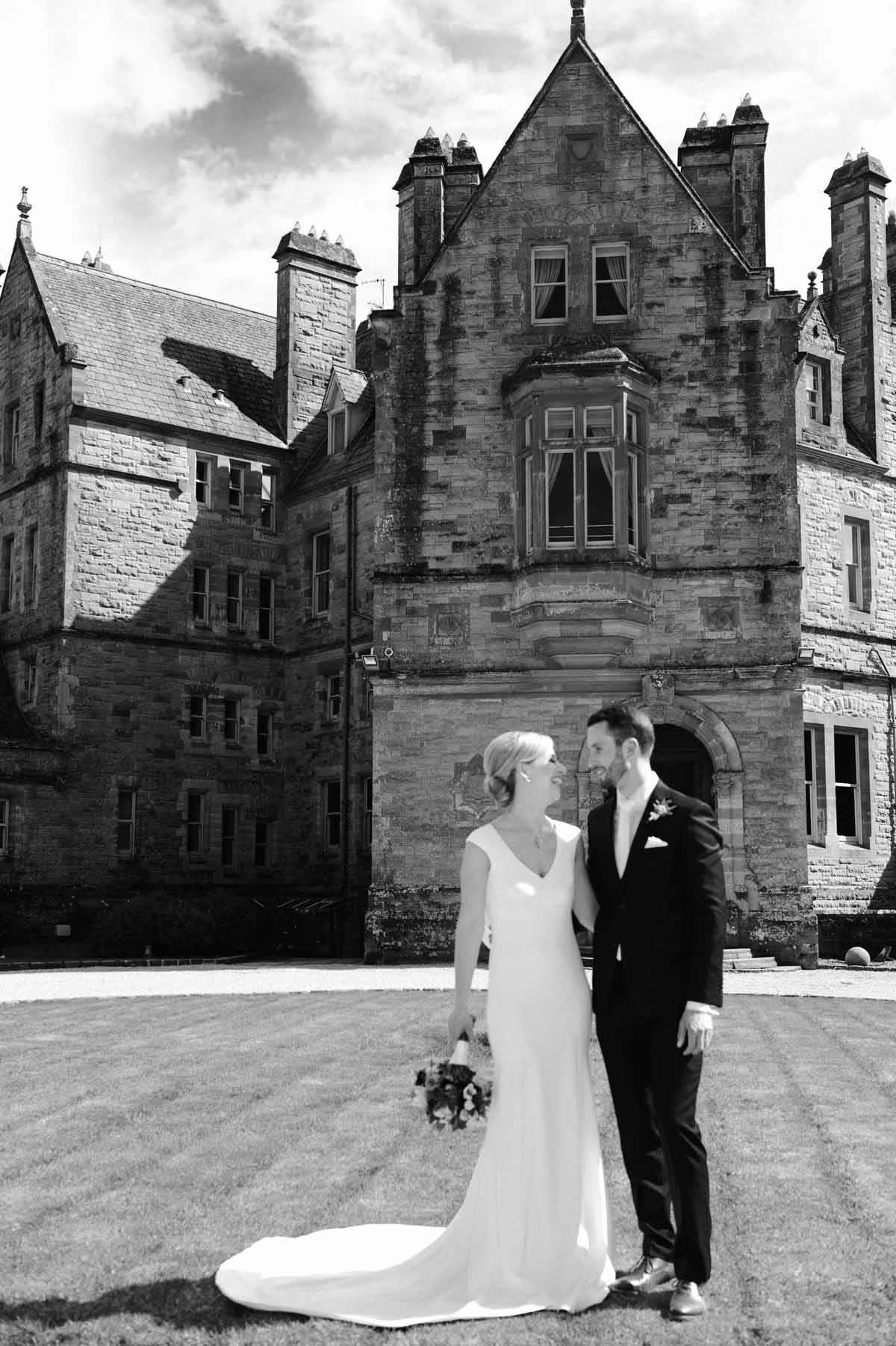 Castle Leslie Wedding Ceremony Photos