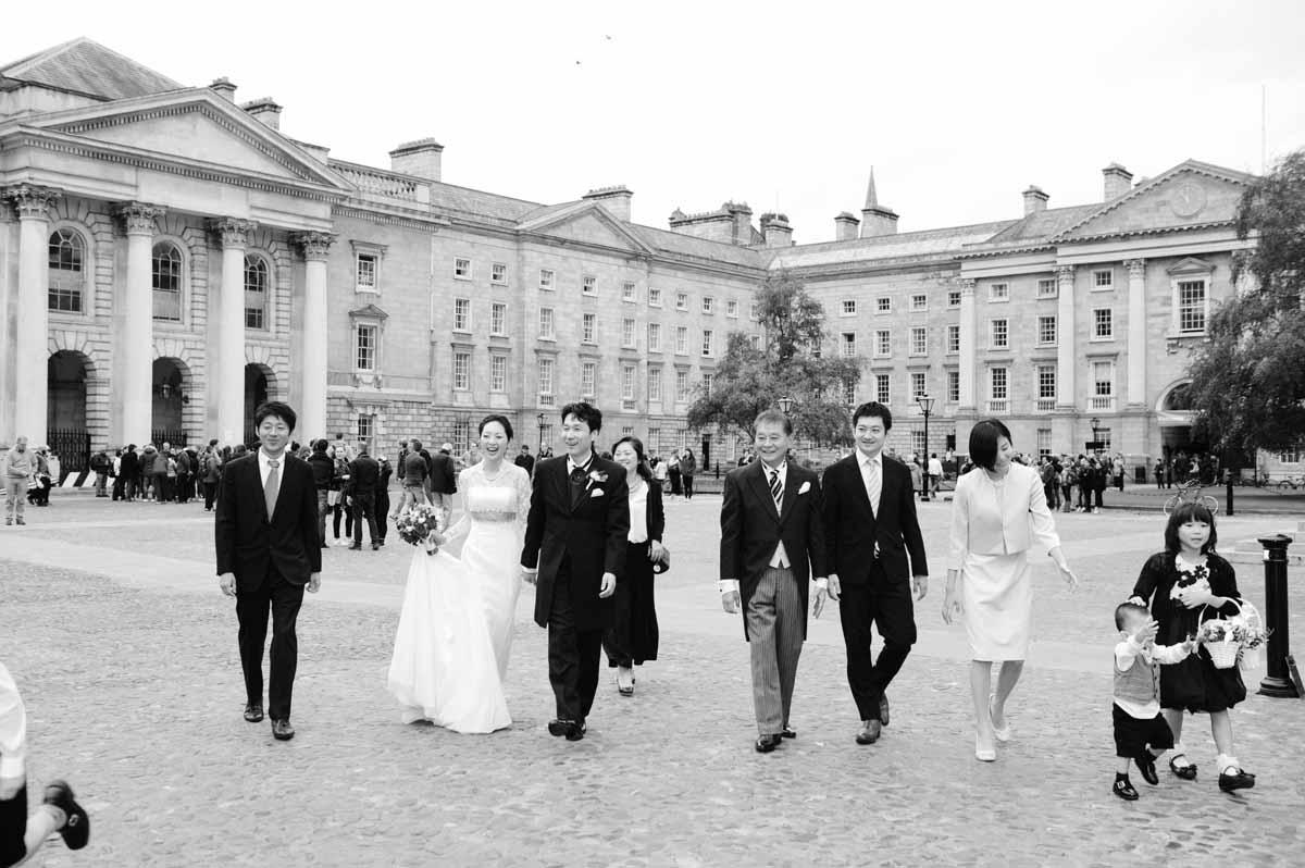 A Trinity Wedding Photograph