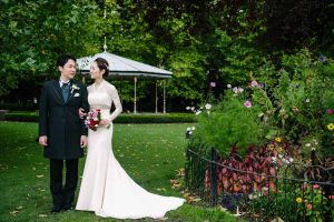 St.Stephen's Green Wedding Photo