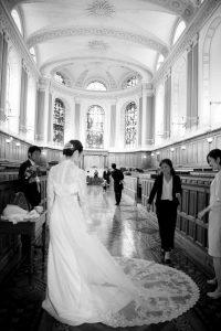 Trinity College Chapel Wedding Photo