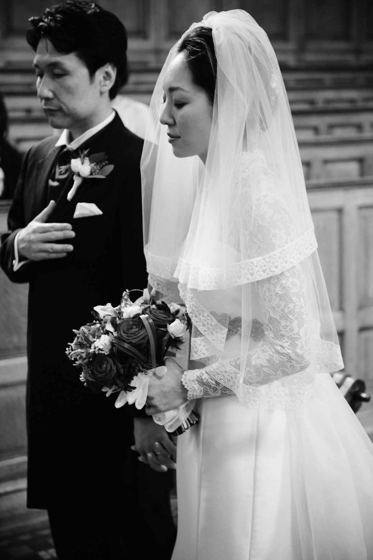 Wedding Ceremony at Trinity College Chapel
