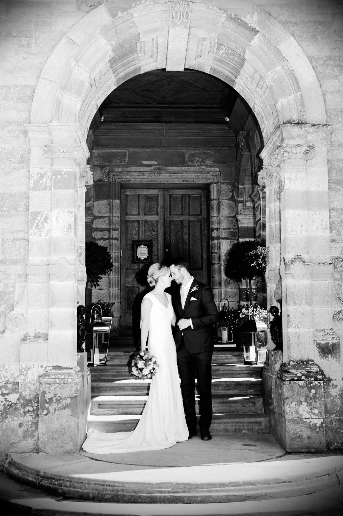 Wedding photo in Castle Leslie