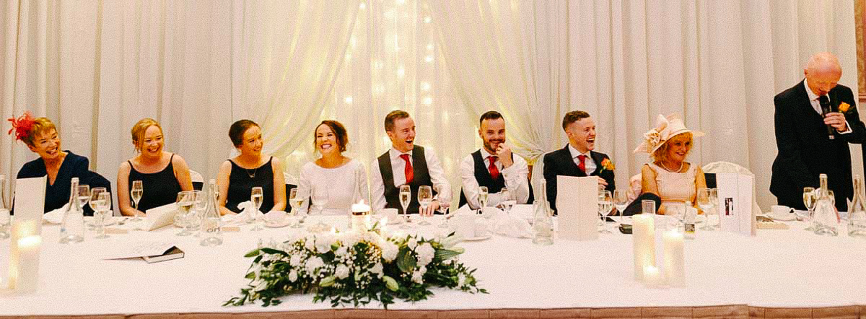 Clontarf Castle Wedding Reception Photograph