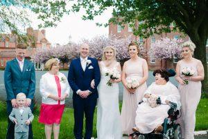 A McKee Barracks Wedding Photograph