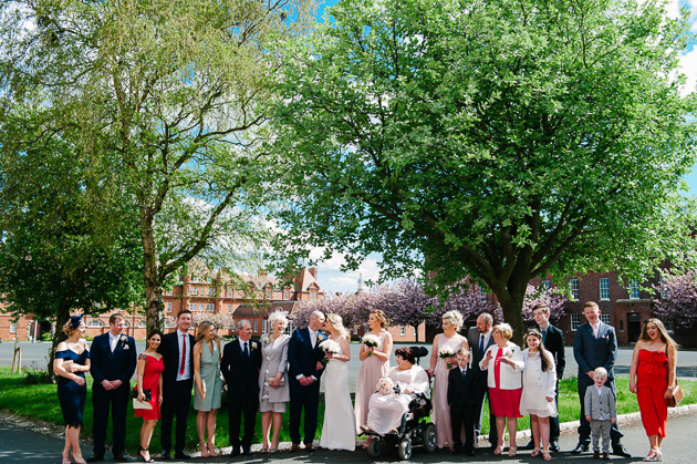 McKee Barracks Dublin Wedding Photograph