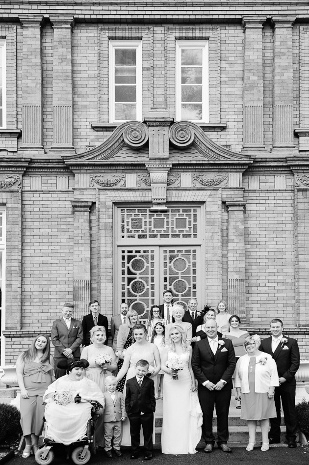 McKee Barracks Wedding Photograph