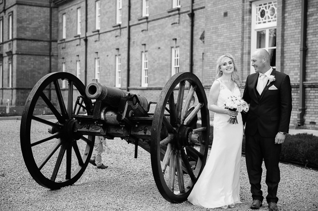 McKee Barracks in Dublin Wedding Photograph