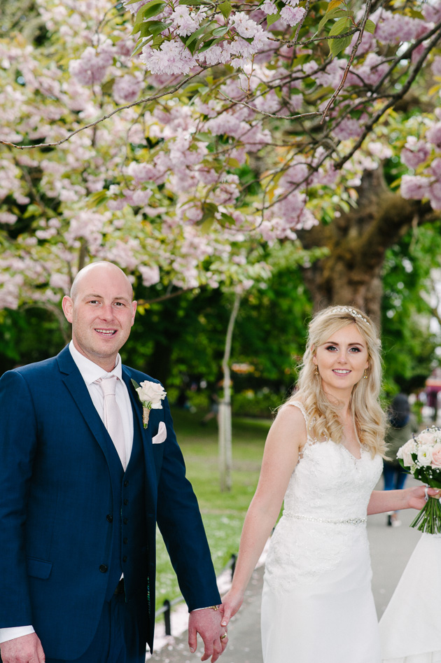 Wedding Photograph in St.Stephen's Green