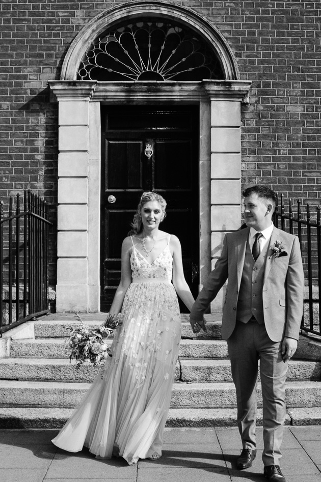 Wedding Photo in Georgian Dublin