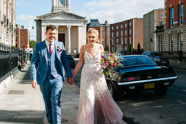 Dublin Registry Office Wedding
