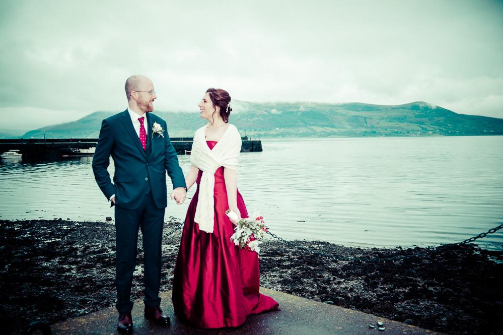 Wedding Portrait in Carlingford