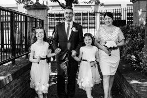 Dublin Registry Office Wedding Photographs