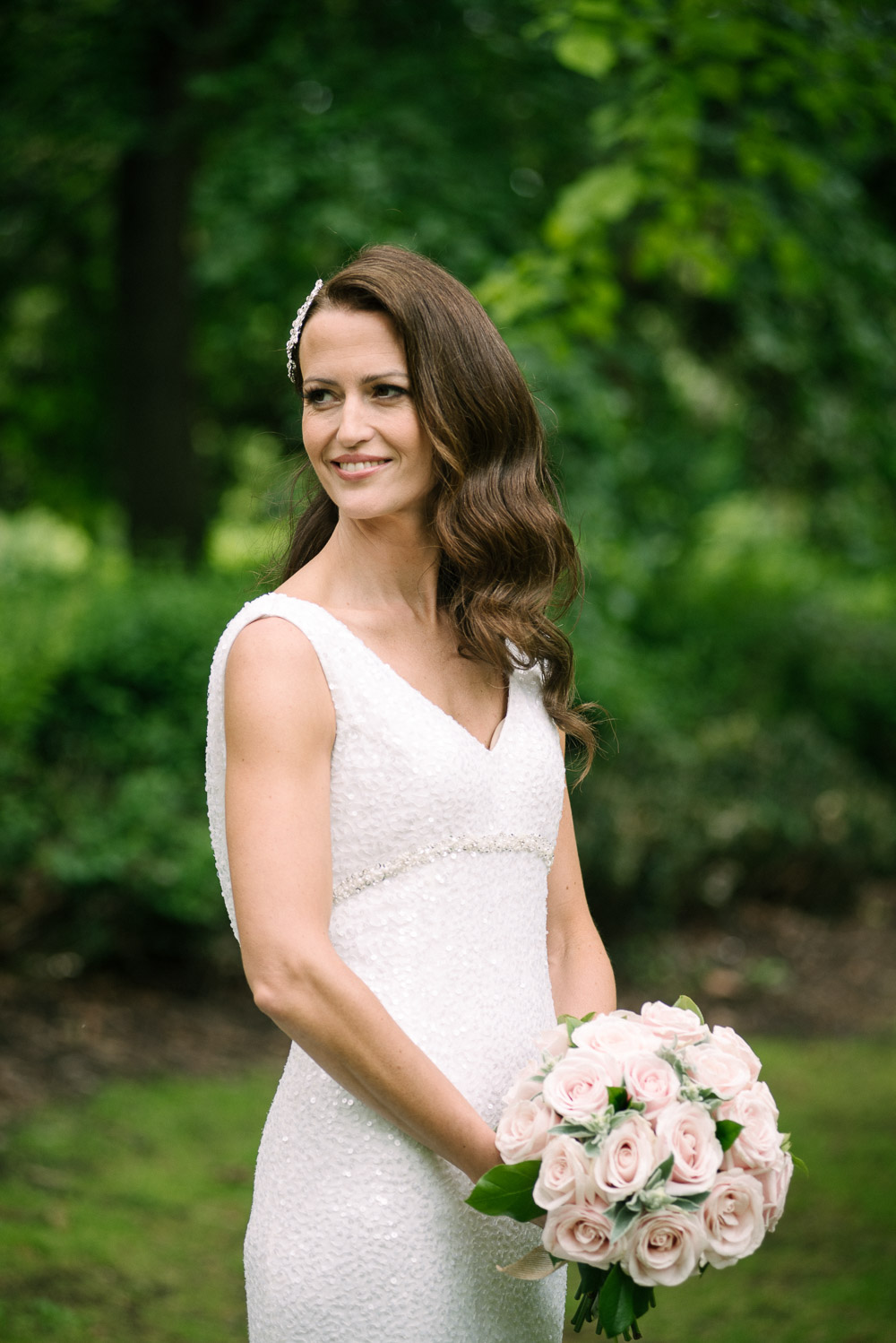 St. Stephen's Green Bridal Portrait