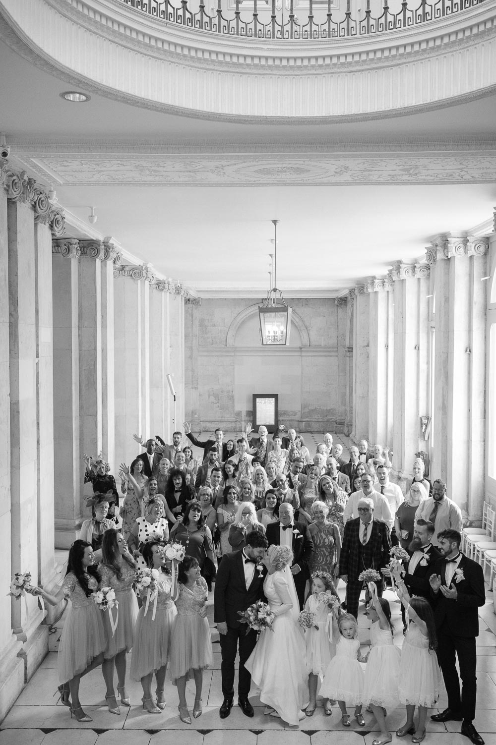 Dublin City Hall Wedding Photograph