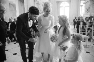 Wedding photography at Dublin City Hall