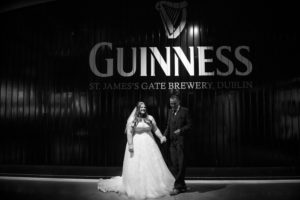 Wedding Photograph in The Guinness Storehouse