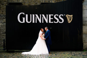 Guinness Storehouse Wedding Photo at The Guinness Gates