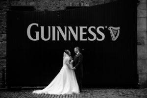 Guinness Storehouse Wedding Photograph