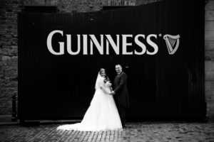 Guinness Storehouse Wedding Photography at The Guinness Gates