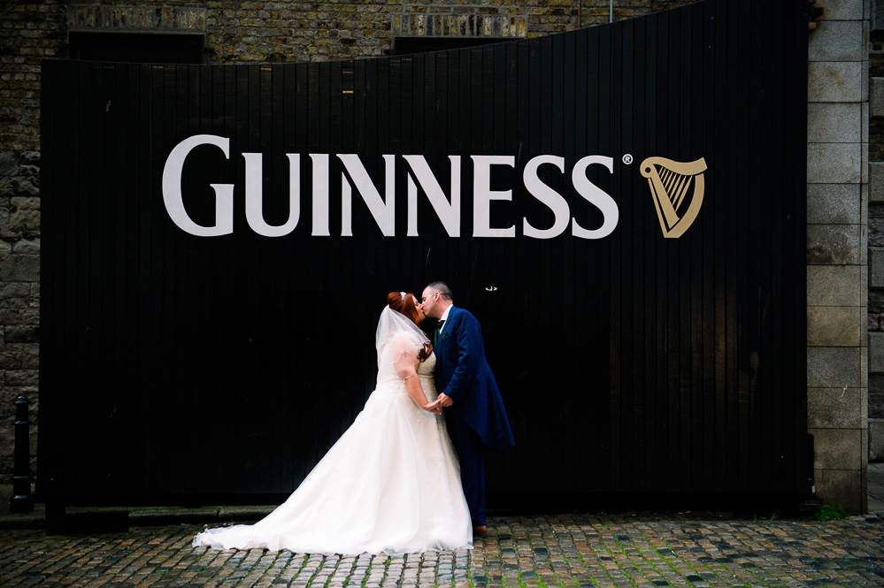 Guinness Storehouse Wedding Photograph