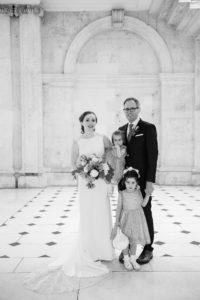 City Hall Wedding Portrait