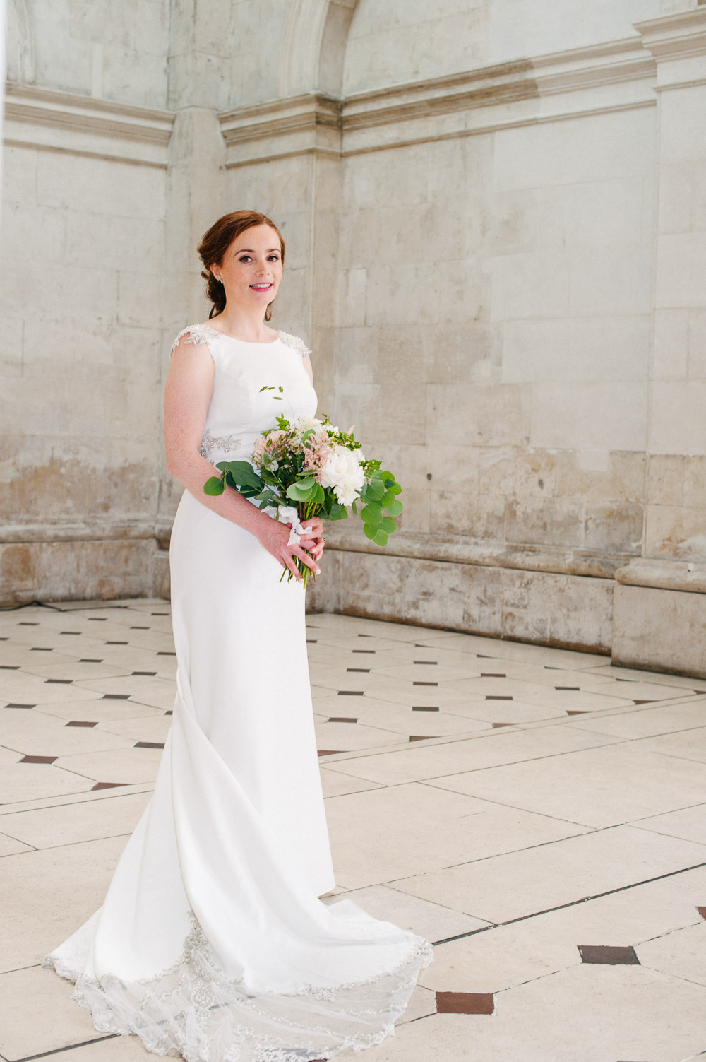 Dublin City Hall Bridal Portrait