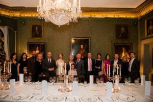 Shelbourne Hotel Wedding Group Portrait