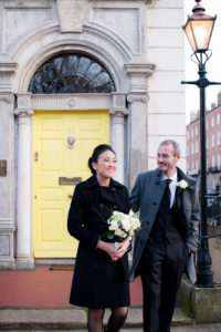 Dublin Registry Office Marriage Ceremony