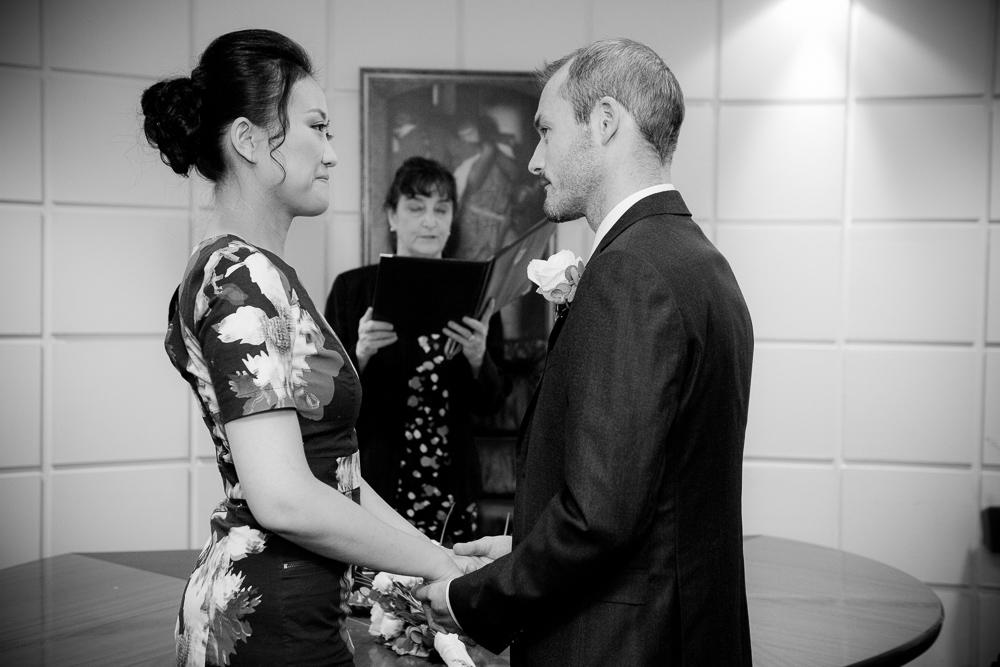 Dublin Registry Office Marriage Ceremony