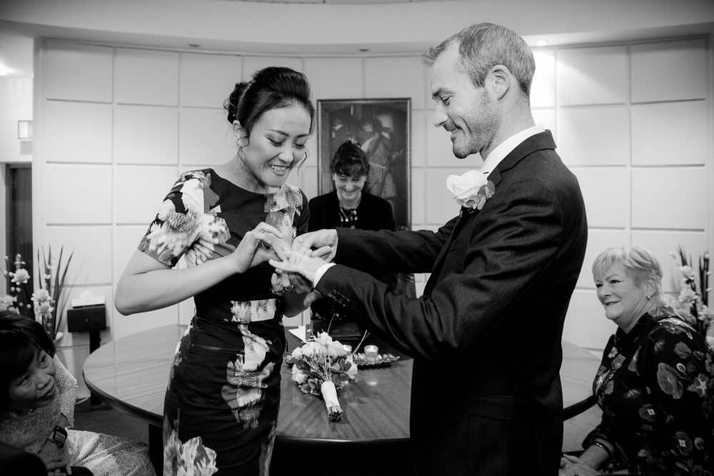 Dublin Registry Office Wedding Ceremony